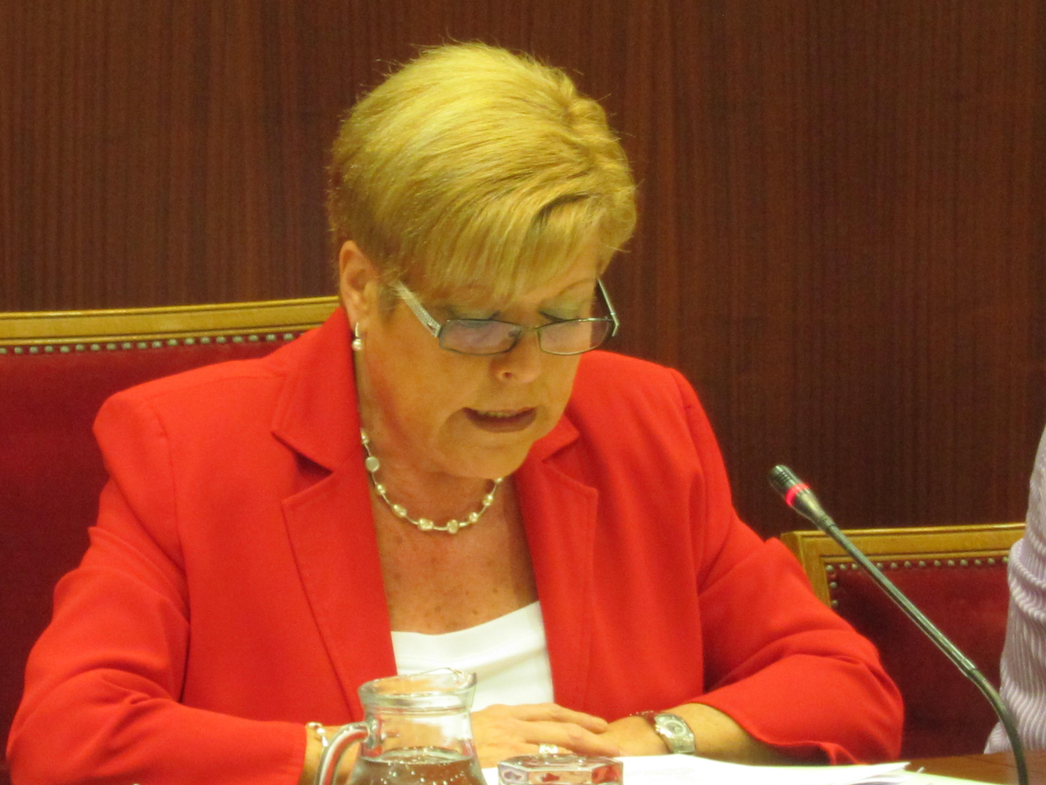 La alcaldesa de Novelda, Milagrosa Martinez