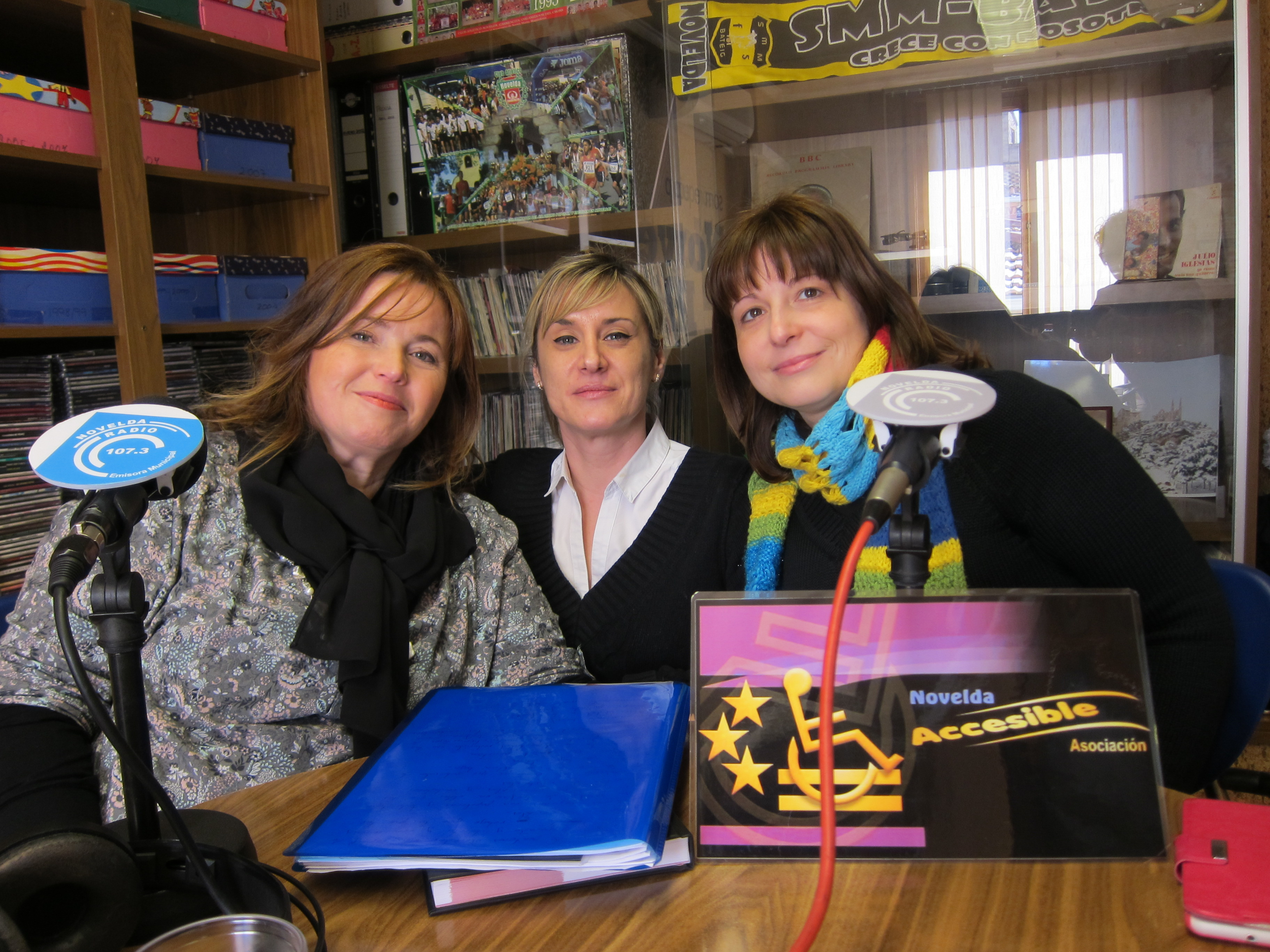 Miembros de la asociacion Novelda Accesible (MINI)