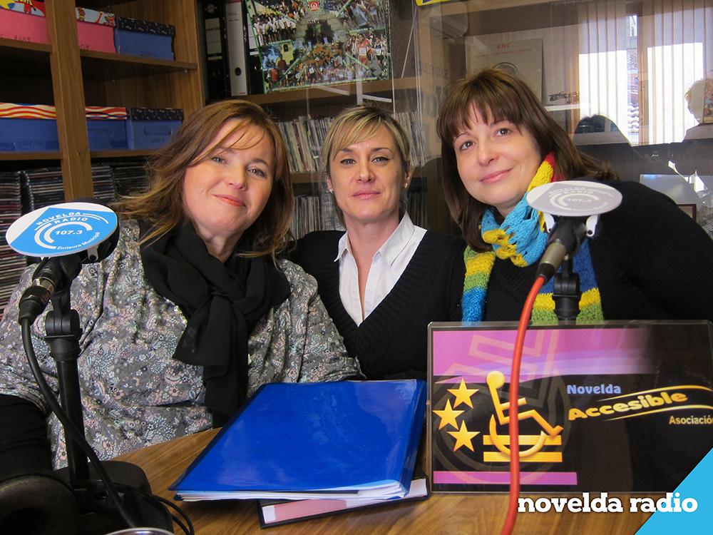 Miembros de la asociacion Novelda Accesible
