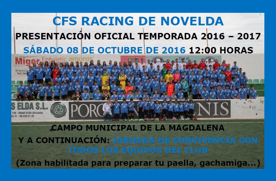 Fuente: CFS Racing de Novelda (vía Facebook)