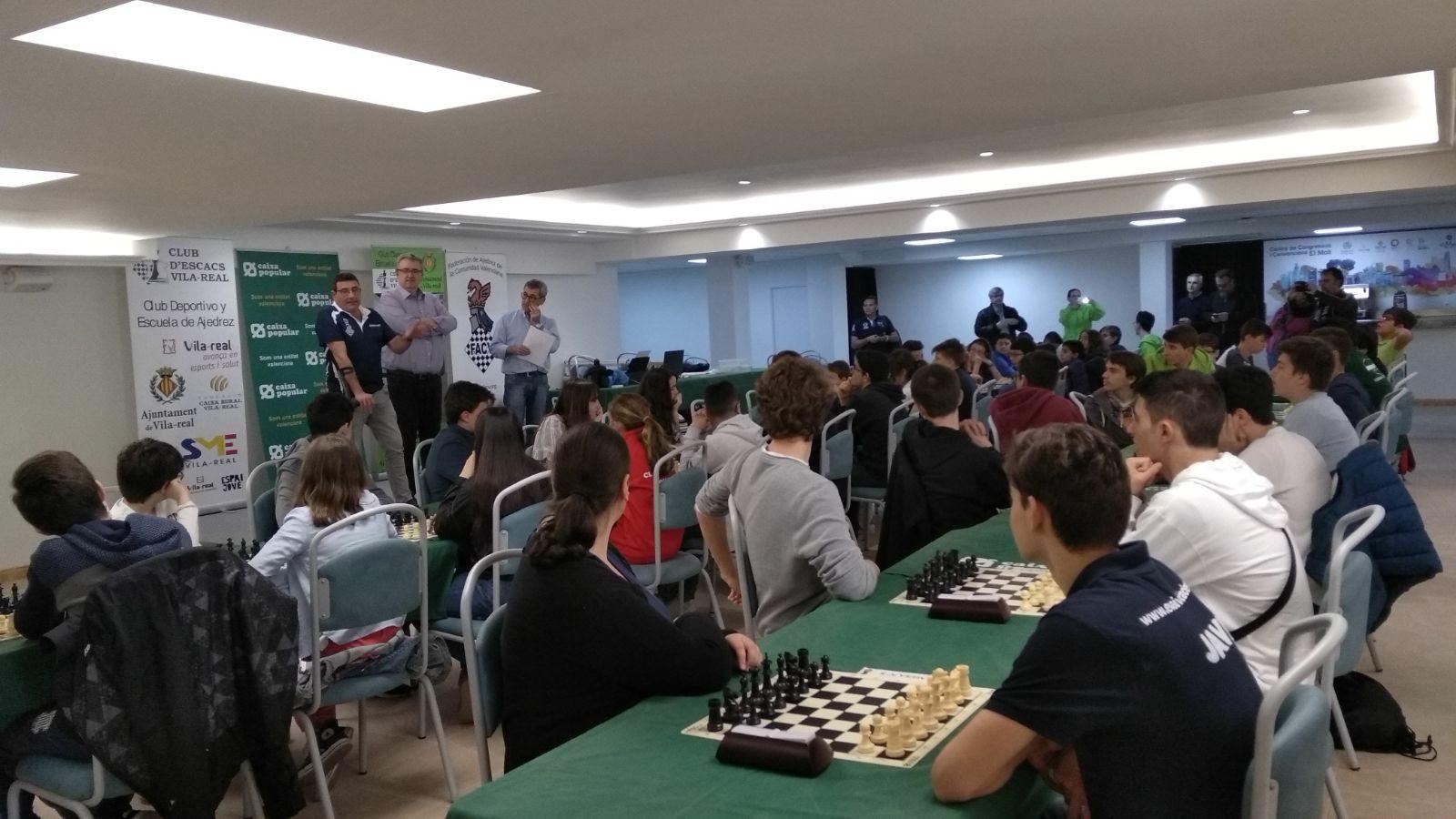 Imagen cedida por el Club Escacs Novelda.
