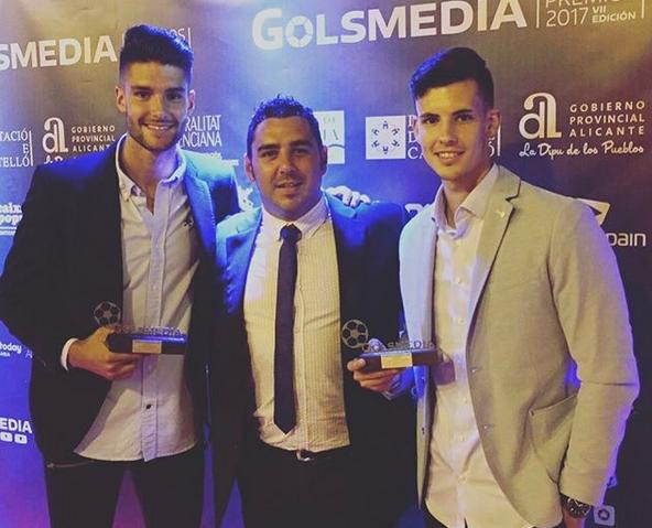 Óscar Sánchez, Juan Castillo y Carlos Mora.