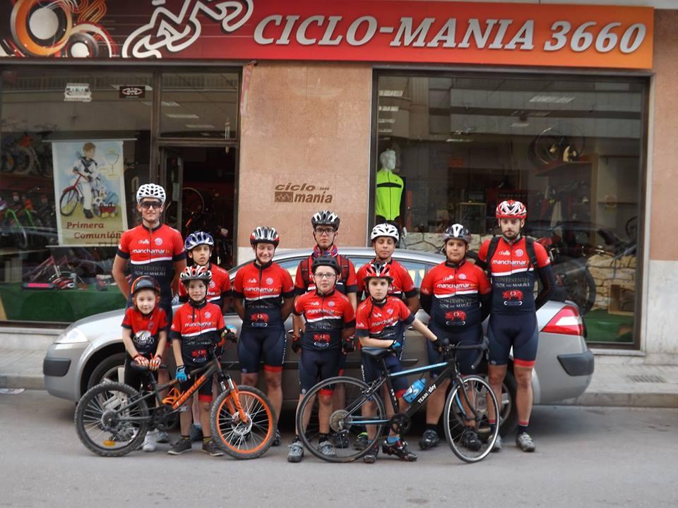 fuente: Facebook Escuela Unión Ciclista Novelda