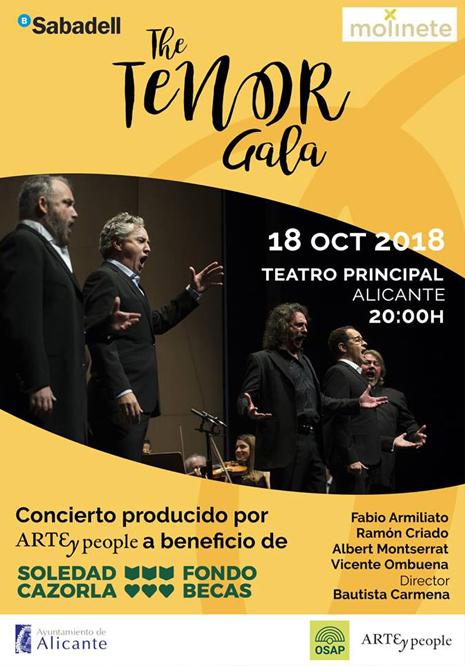Cartel gala the tenor