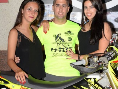 Toni Expósito, motociclista(imagen Facebook)