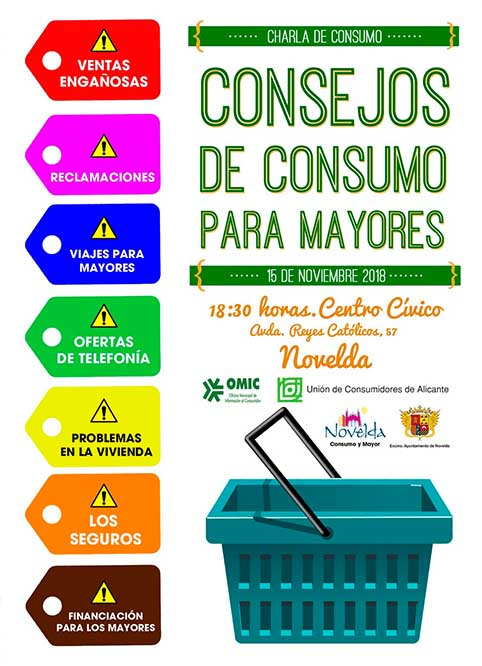 Cartel conferencia consumo ok