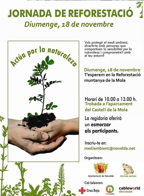 Cartel reforestacion