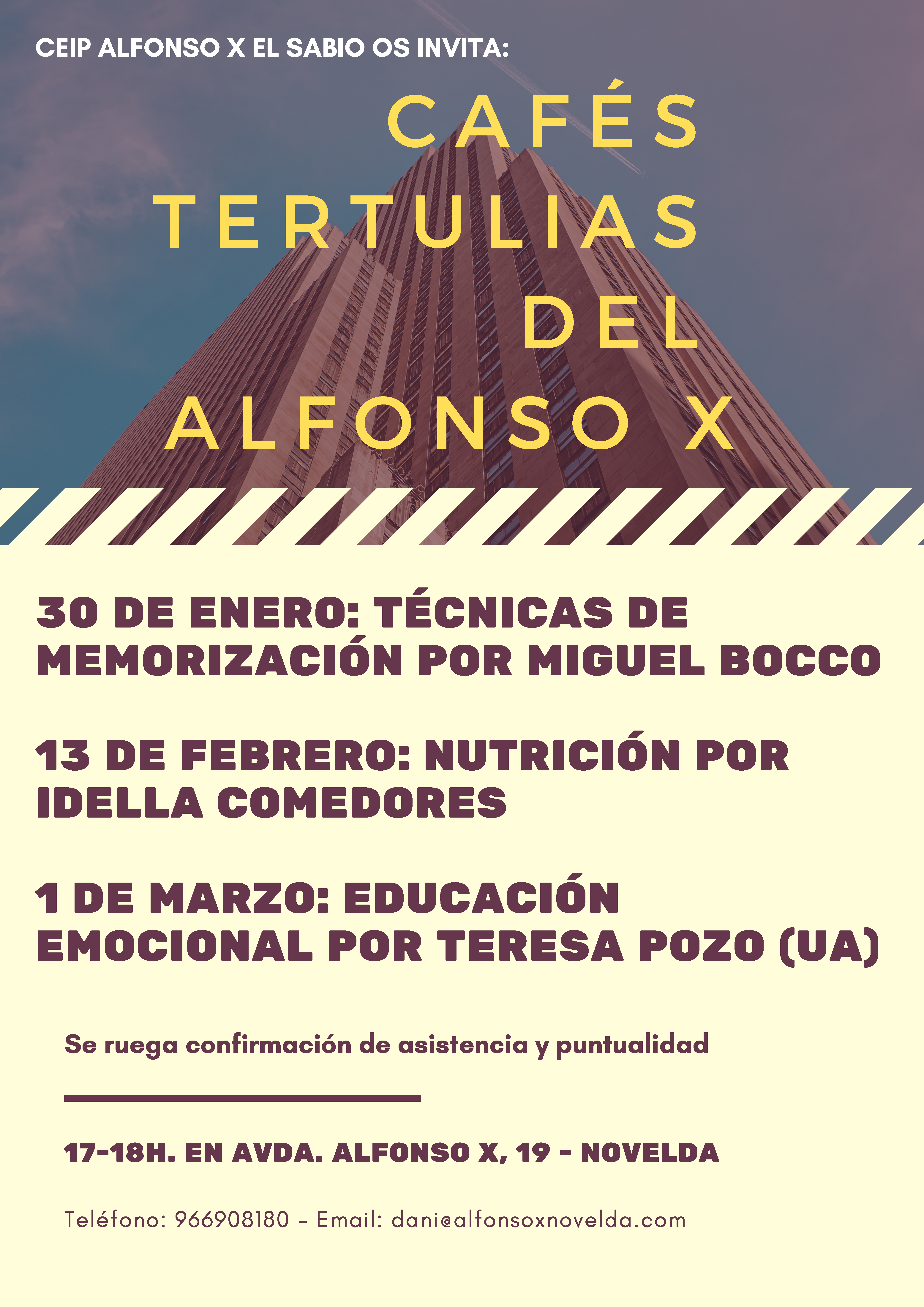 CEIP ALFONSO X EL SABIO OS INVITA: