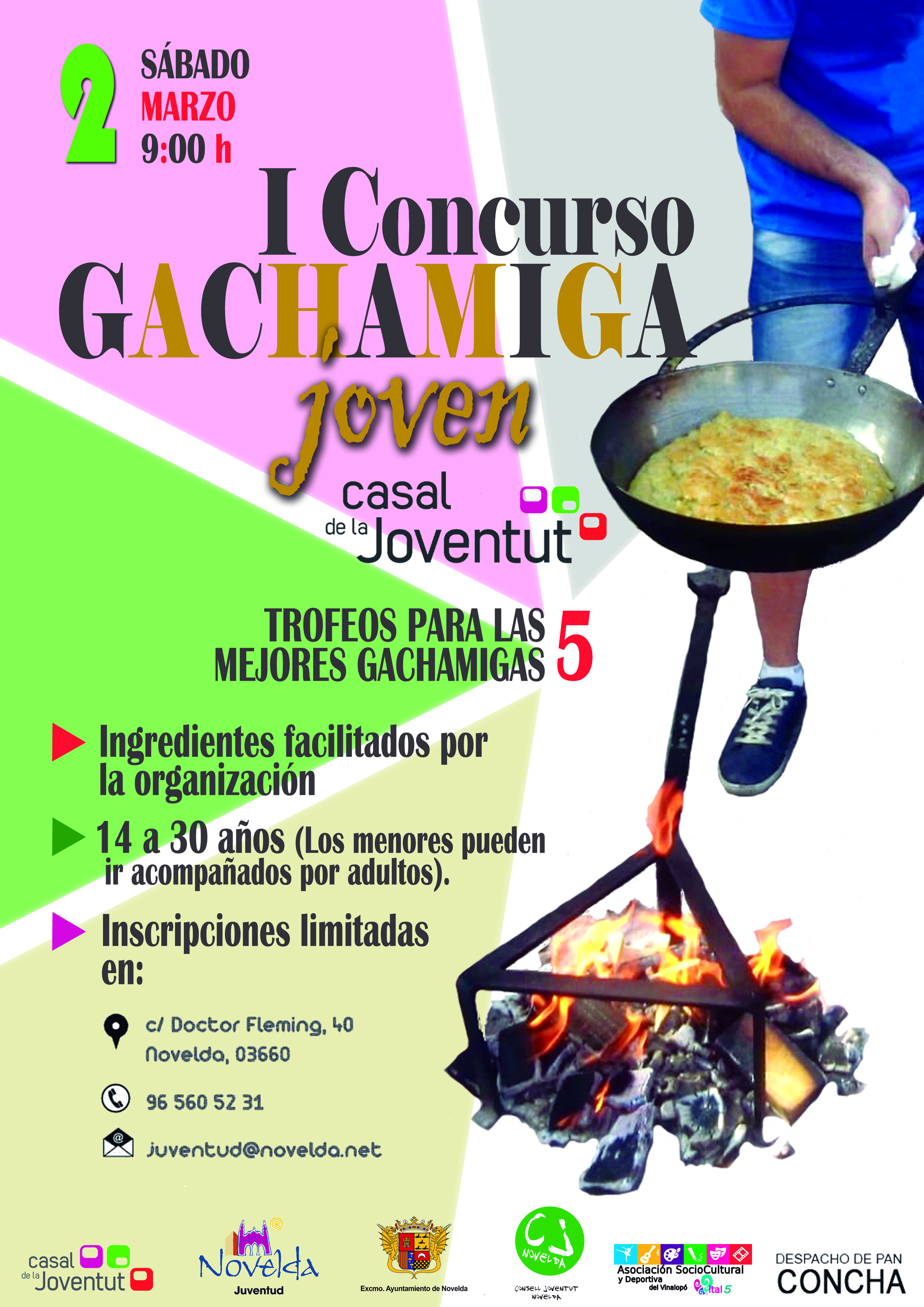 cartel concurso gachamiga