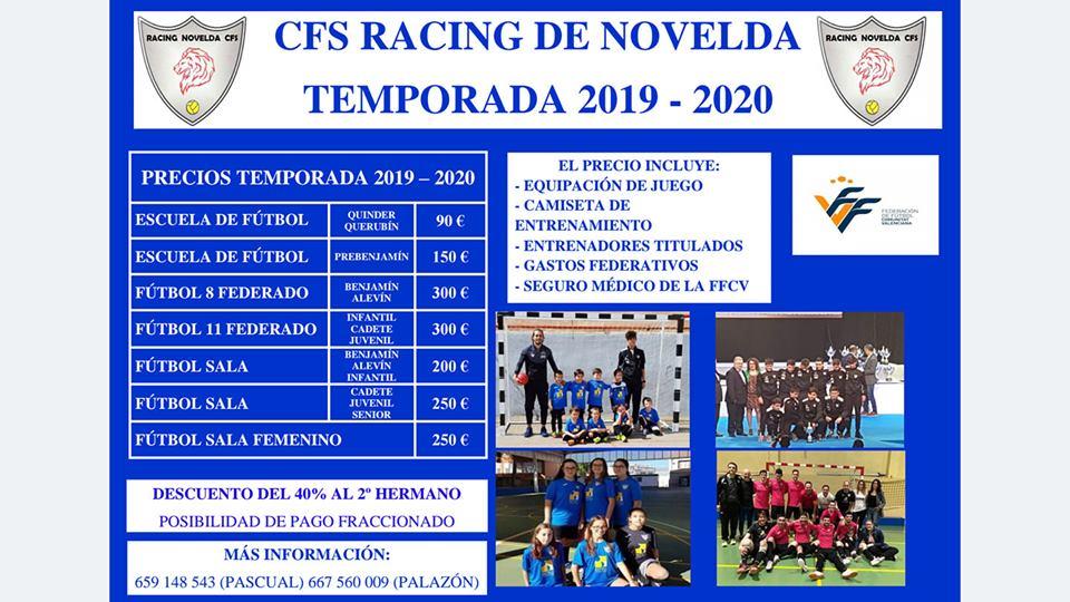 cfsracing 20192020