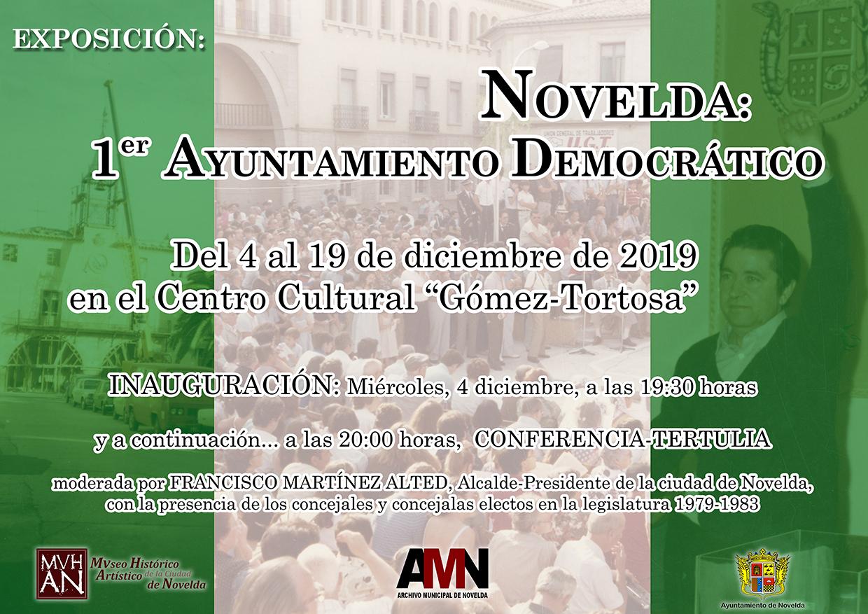 Cartel Expo Novelda Democr BR